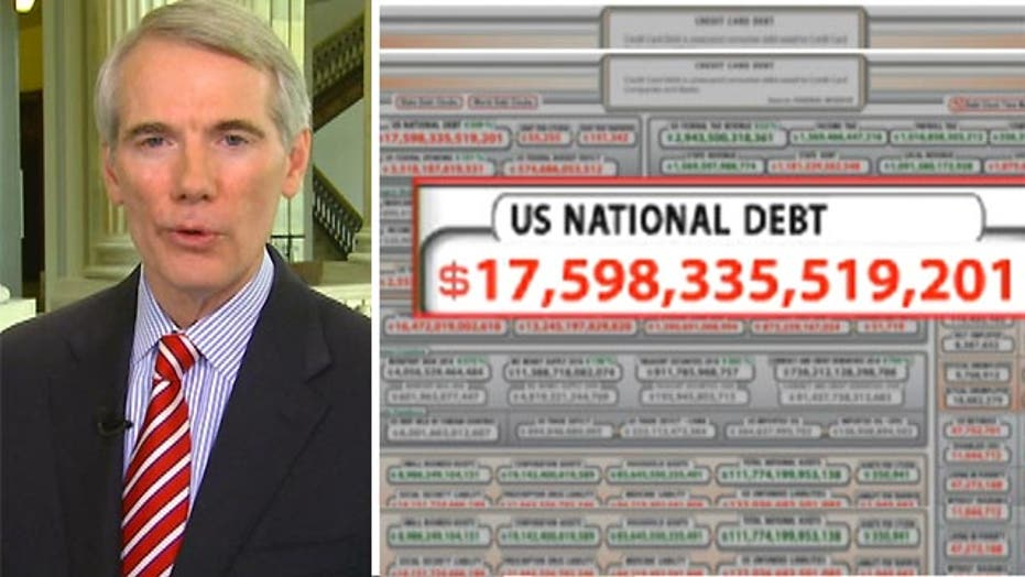 Sen. Portman: US deficit is 'going in the wrong way'