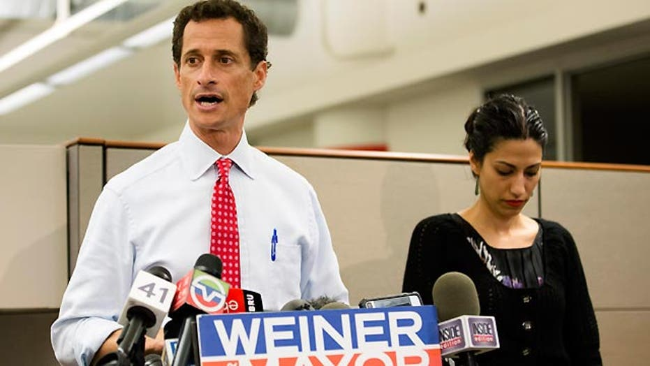 Will Anthony Weiner stay in mayoral race?