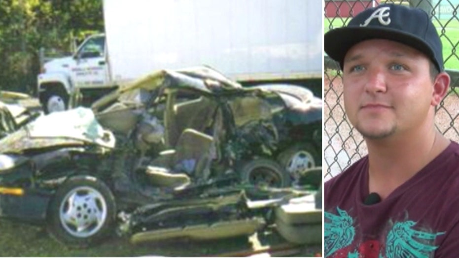 NC man claims he visited heaven three times after crash