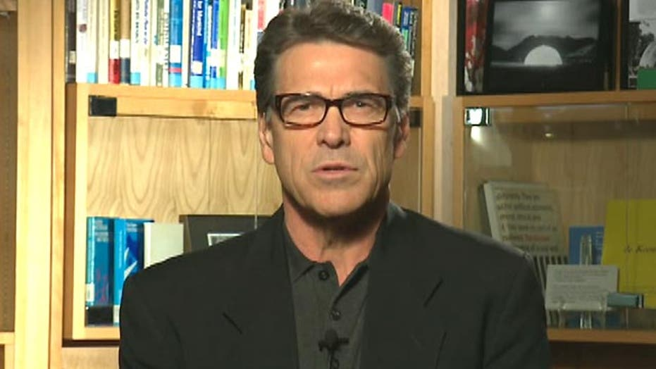 Gov. Perry on securing the border, crises around the world