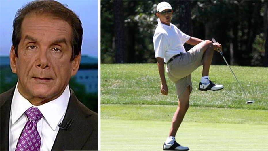 Krauthammer: World Going to Hell, Obama is Golfing