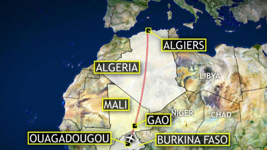 French fighter jets confirm missing plane crashed in Mali