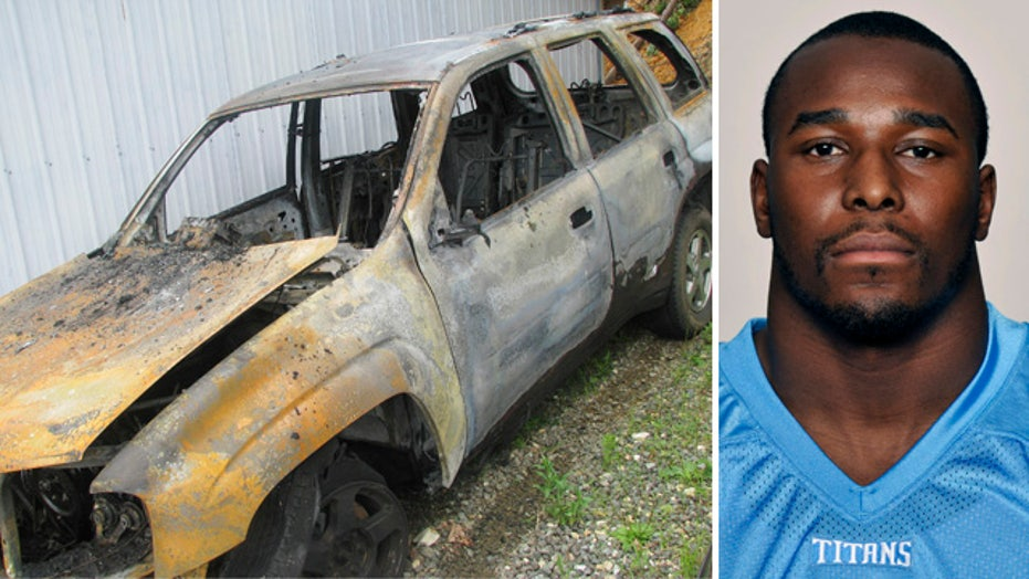 NFL player saves family from burning car