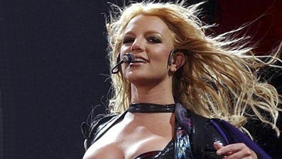Britney Spears teases new lingerie line