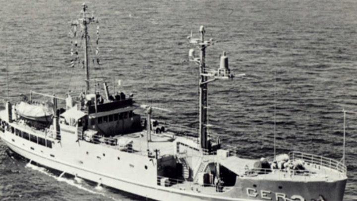 USS Pueblo now a North Korean 'victory' museum