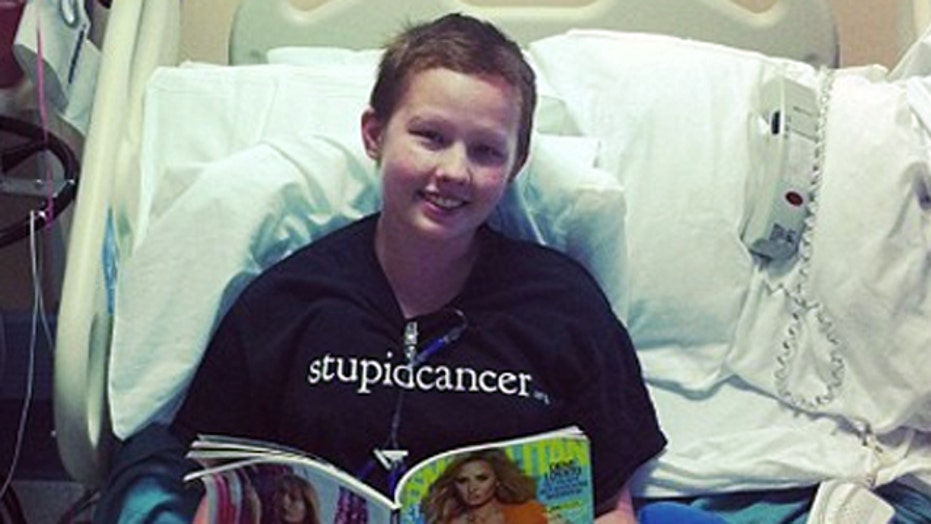 Social media gives voice to young cancer patients