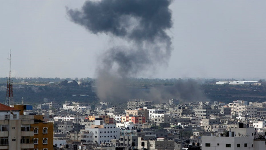 Ten dead in rocket attack on park and hospital in Gaza Strip