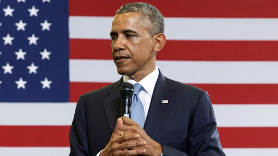 Obama looks to rally base with 'impeachment' talk