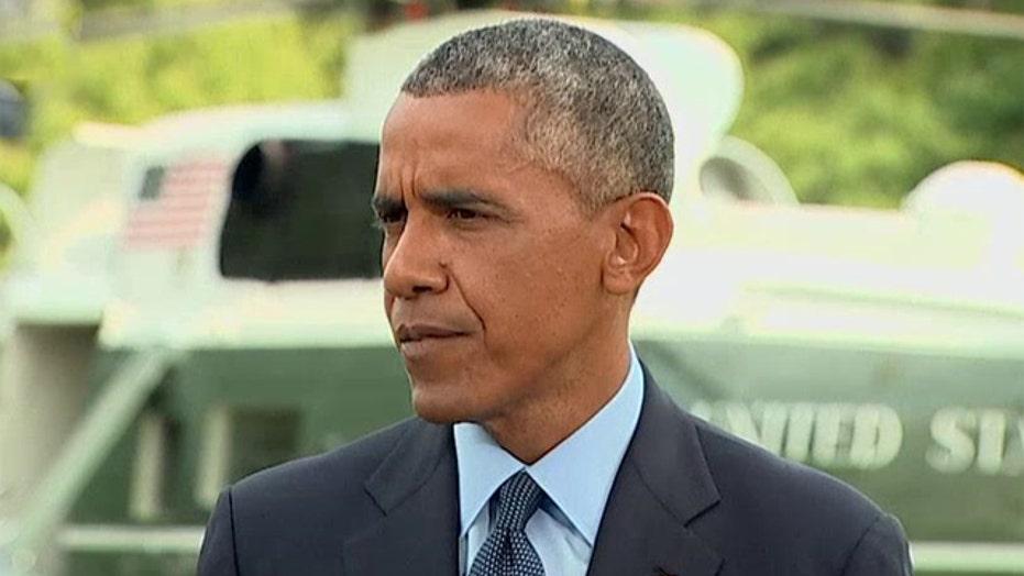 President Obama announces major sanctions against Russia