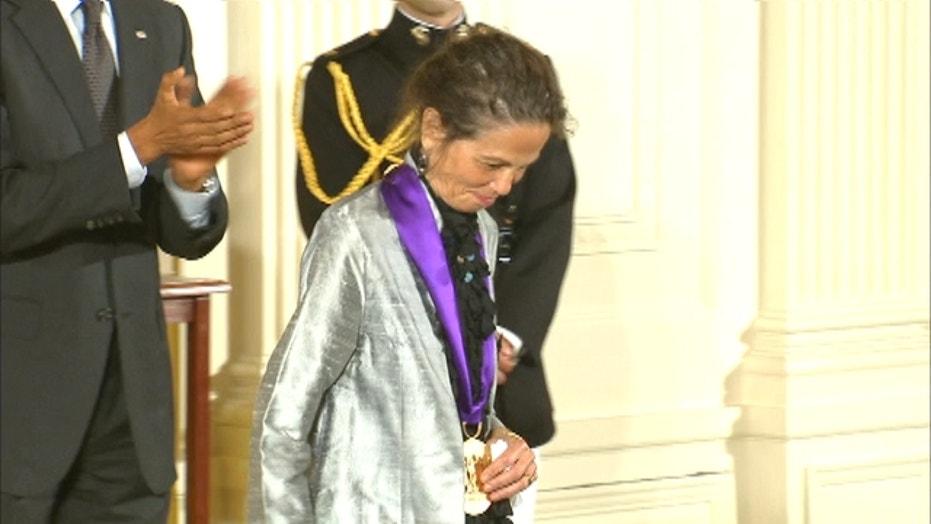 Julia Alvarez received a National Medal of Arts
