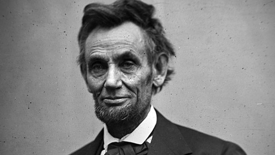 Newly discovered letter from President Lincoln
