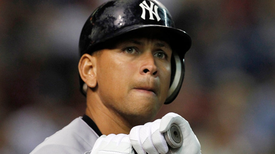 MLB making an example of Alex Rodriguez?