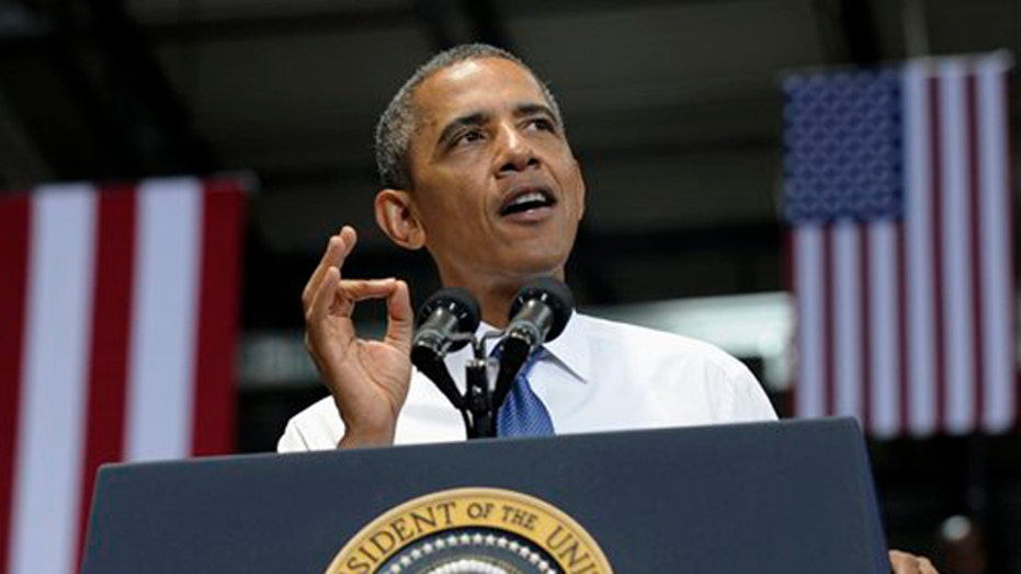 Obama says that Pipeline will create 50 permanent jobs