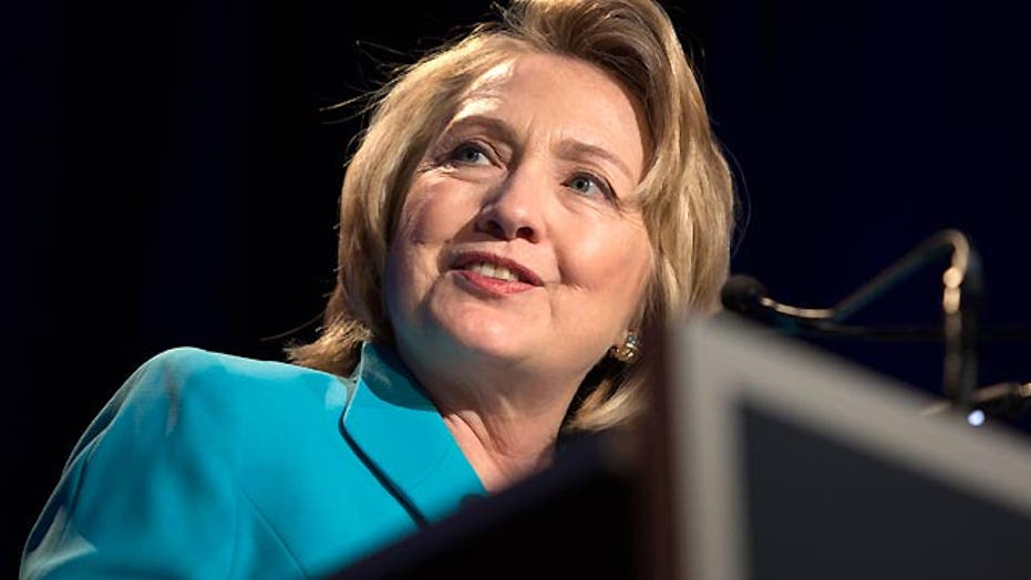 Reaction to media buzz around Hillary Clinton