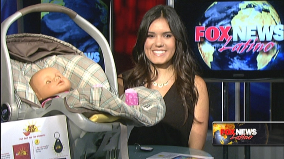 Latina teen invents device to prevent hot car deaths
