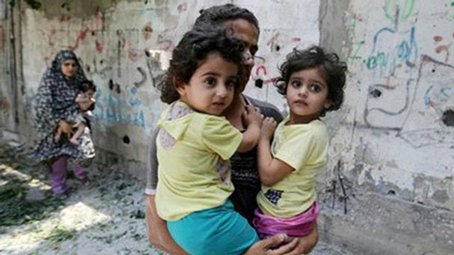 Heated debate over civilian casualties in Gaza conflict
