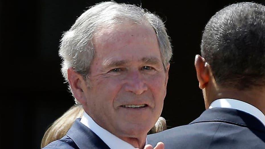 George W. Bush recovering from heart procedure in Dallas