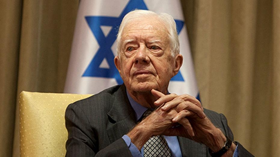 Jimmy Carter slams Israel in op-ed