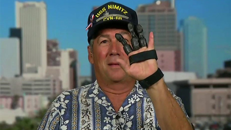 Navy vet creates his own prosthetic