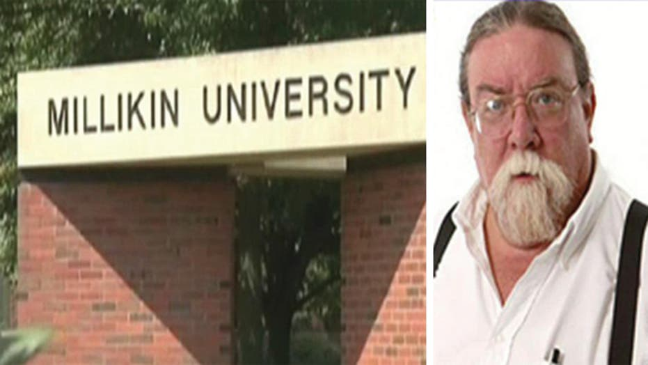 School stands by professor with murderous past