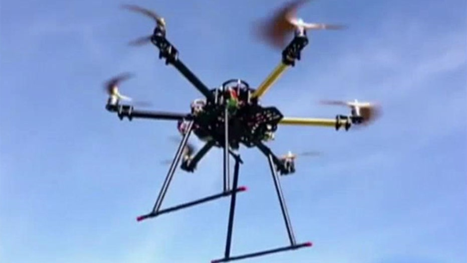 Domestic drones a concern for commercial jets?