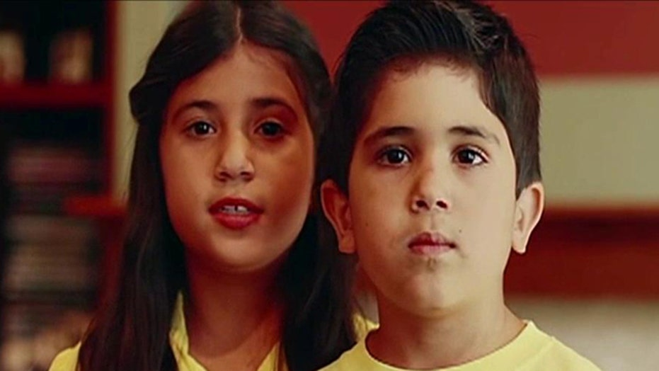 Kids of American jailed in Iran issue video plea to Obama