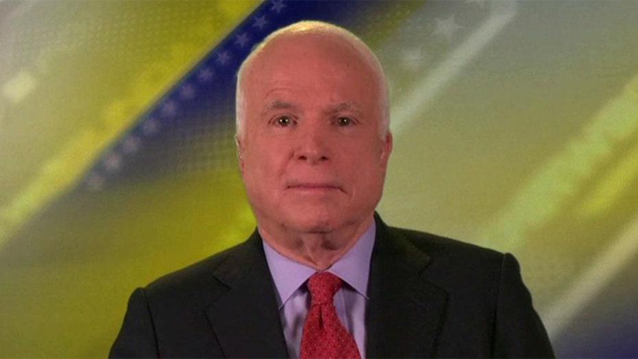 Sen. McCain on gov't surveillance, Al Qaeda threat, Russia