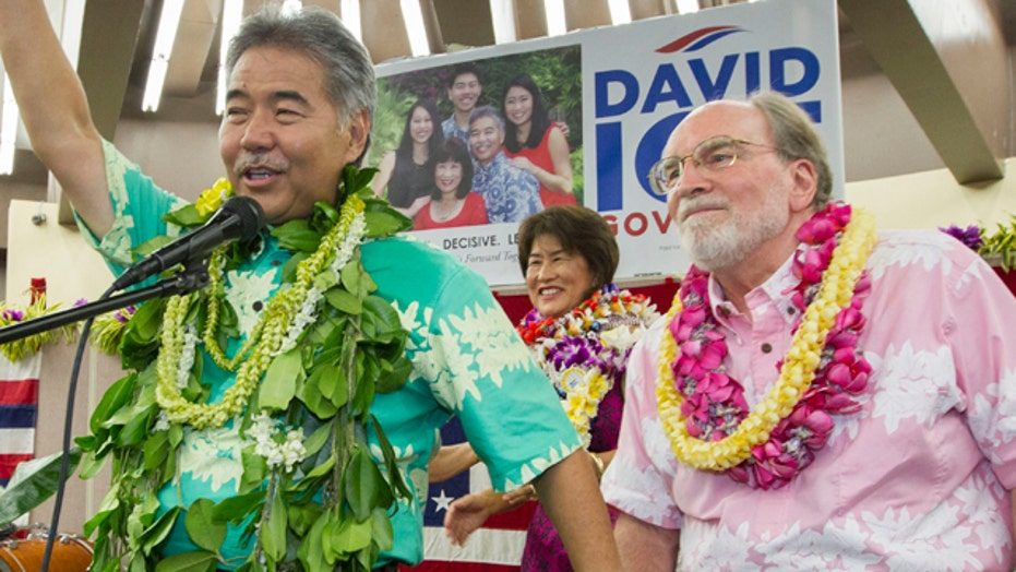 Ige unseats Hawaii Gov. Abercrombie in Democratic primary