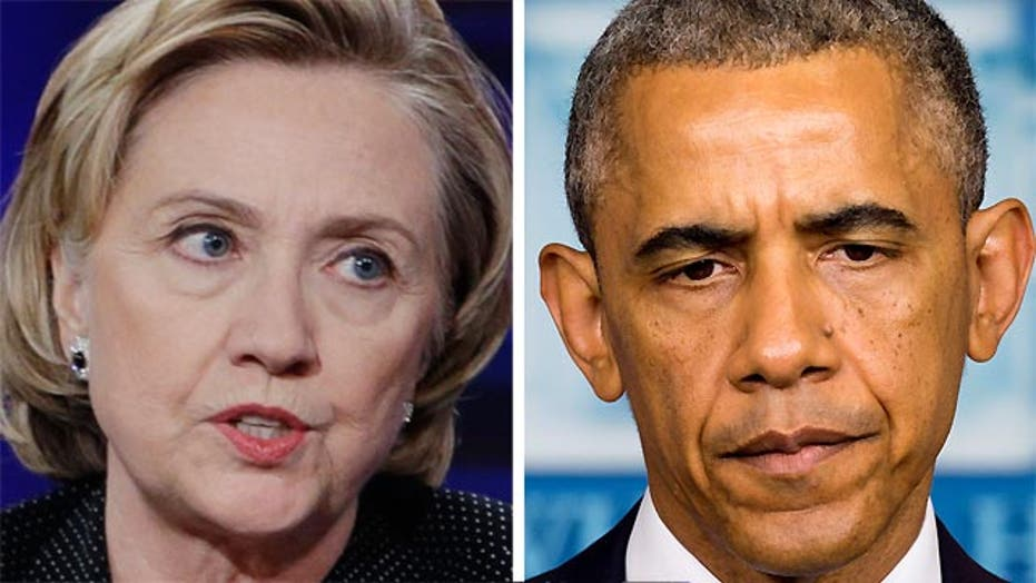 Hillary Clinton's response to Obama foreign policy