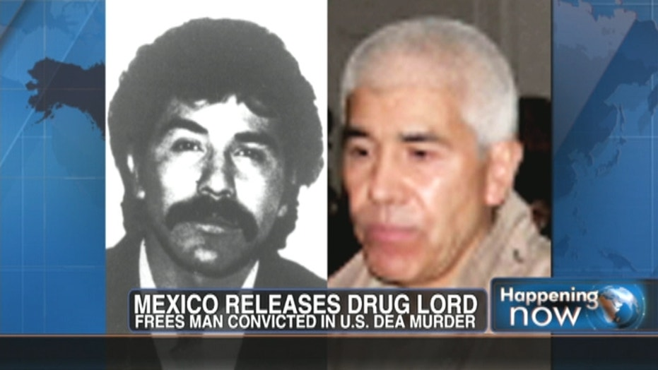 U.S. Working On Re-Jailing MX Drug Lord
