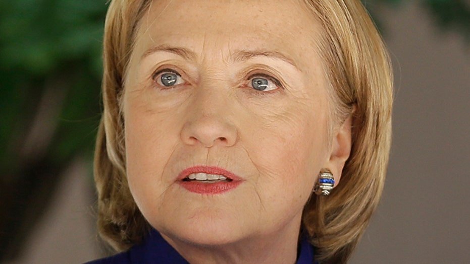 Is Hillary Clinton playing politics with the president?