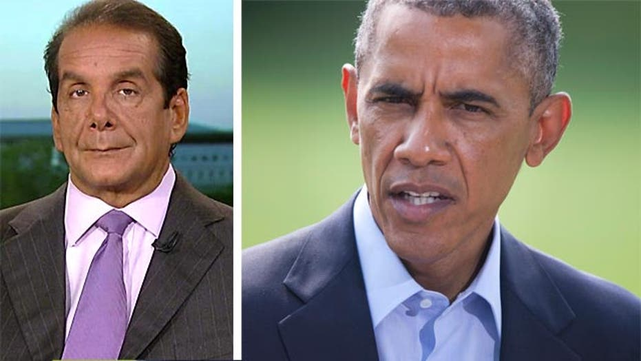 """Krauthammer:  Obama Administration """"Dithering Along"""""""