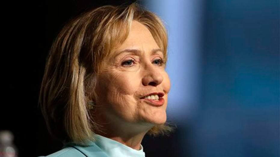 Hillary Clinton already campaigning?