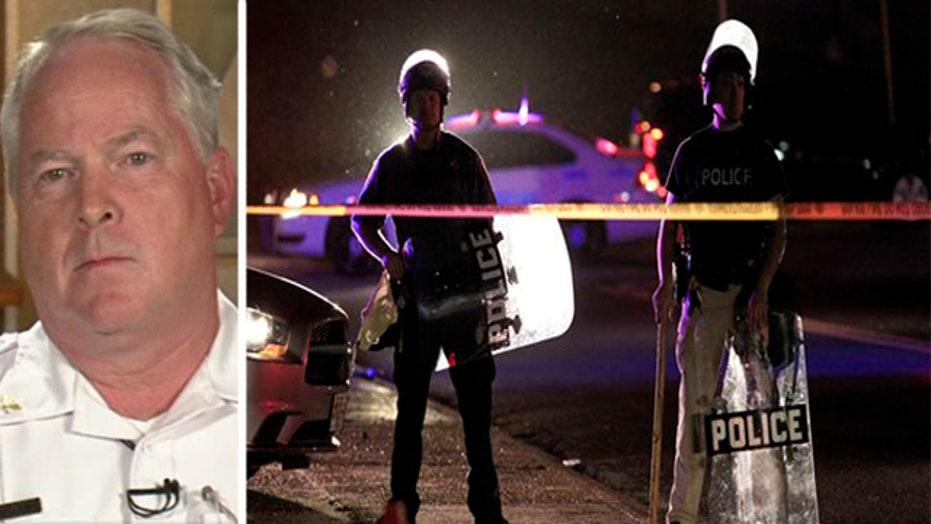 Ferguson Police Chief Thomas Jackson defends response