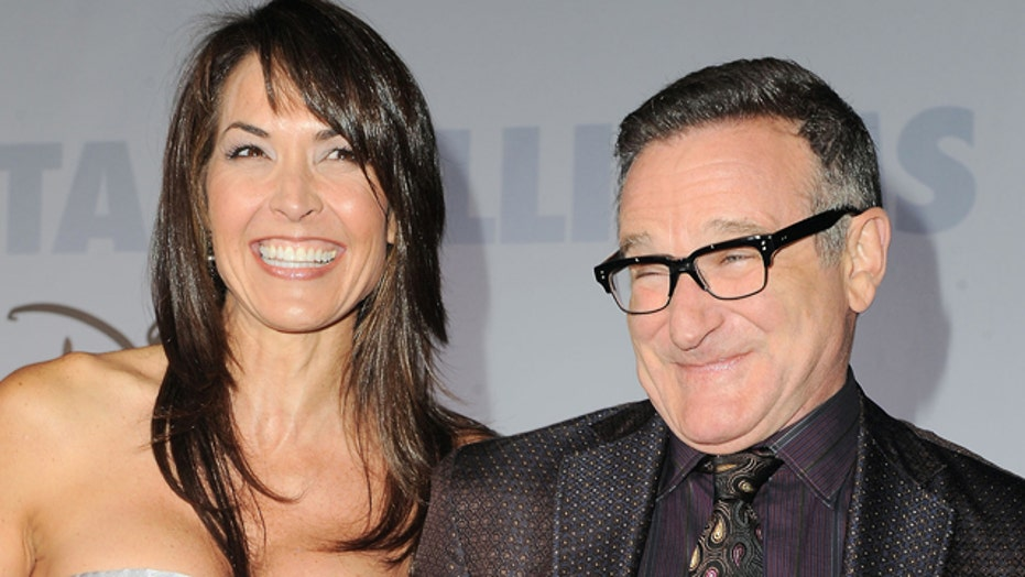 Robin Williams struggled with Parkinson's disease, wife says