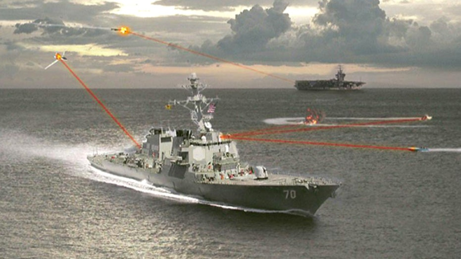 War Games: Laser weapons inch closer to battlefield