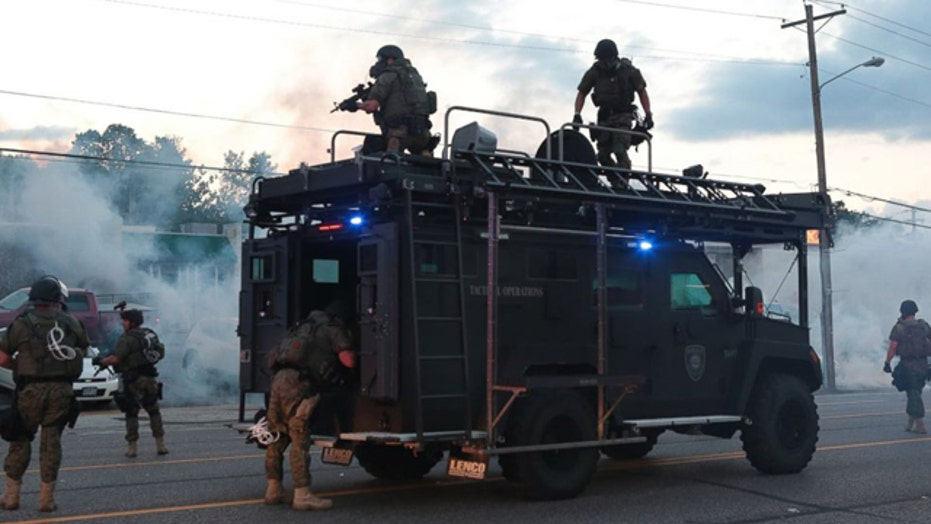 Militarization of police force a problem in the US?