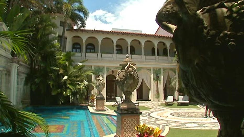A rare look inside Gianni Versace's mansion