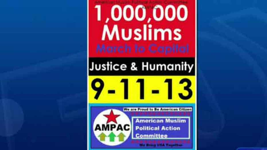 Group plans 'Million Muslim March' on September 11