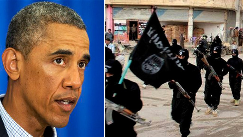 Is Obama committed to defeating the Islamic State threat?