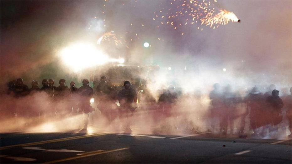Media maelstrom in Ferguson