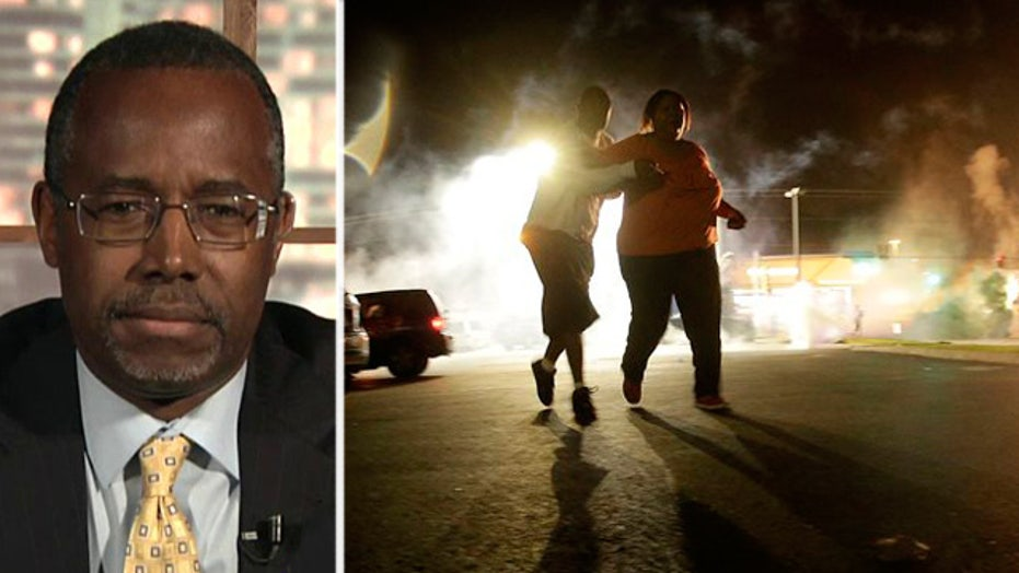 Dr. Ben Carson provides insight into Ferguson chaos