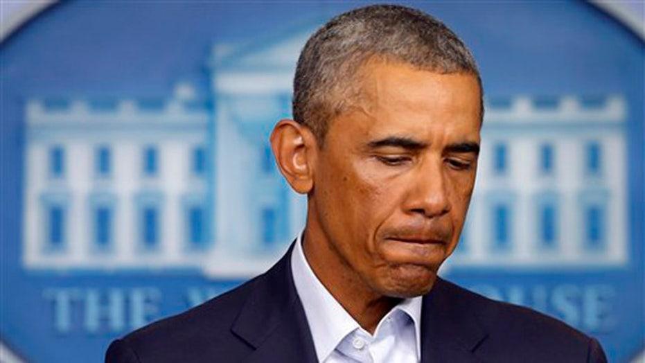 President Obama calls for calm in Ferguson