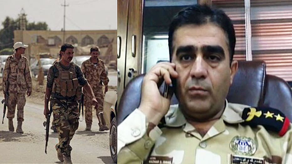 Kurdish Colonel: Iraq forces need more heavy weaponry