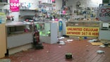 Stores targeted by looters, rioters