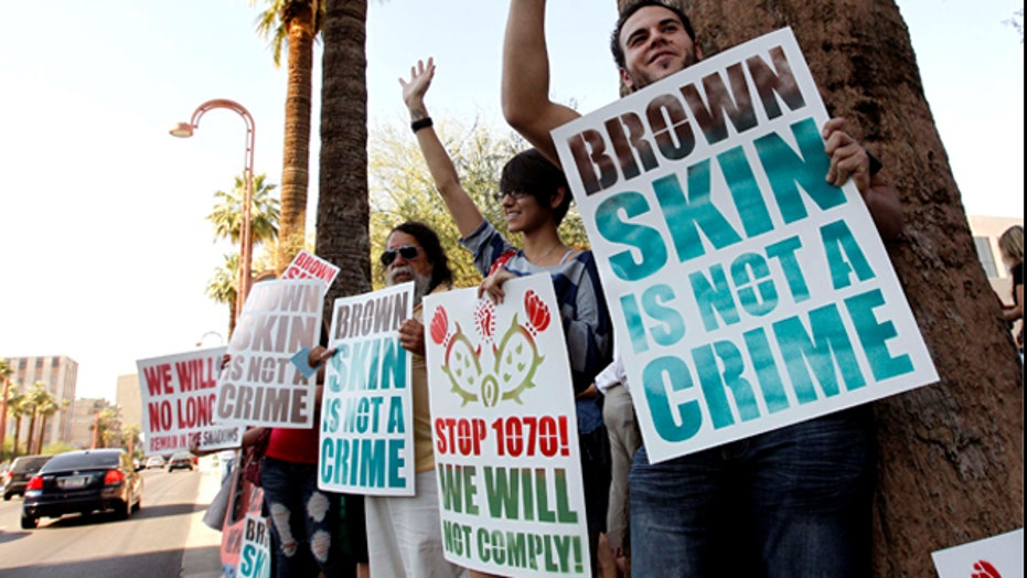 Controversial SB 1070 sparks protests