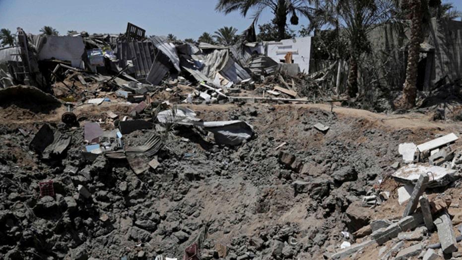 East Gaza neighborhood shattered by conflict