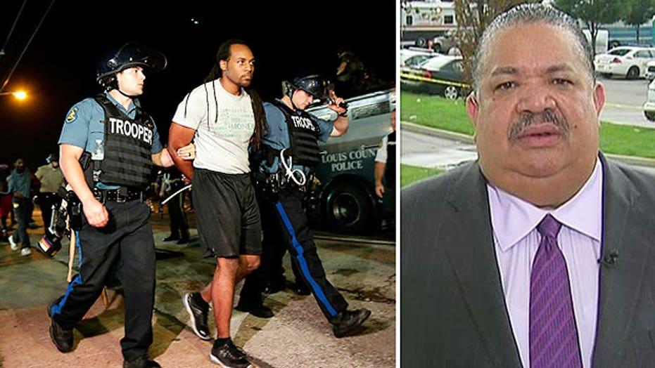 St. Louis pastor details unrest in Ferguson