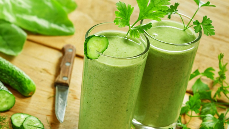 Beauty-boosting juices