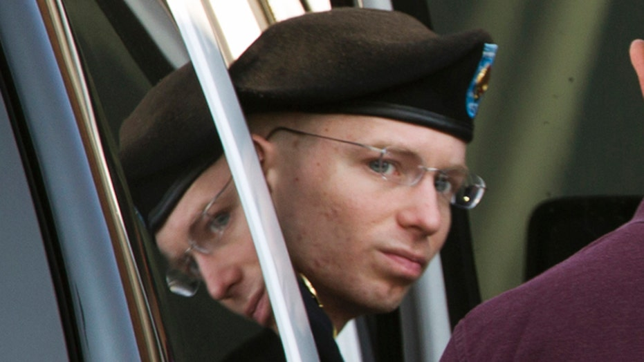 Manning gets 35 years in prison for WikiLeaks case